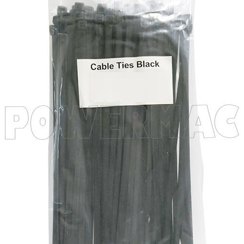 CABLE TIE NYLON BLACK 550mm x 8.0mm - 100 PACK